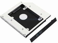2nd HDD SSD Hard Drive SATA Case Caddy Adapter for MSI GE60 2OE cr720 Apache-629