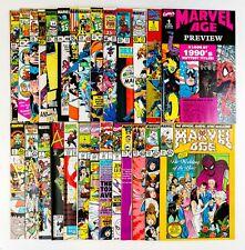 Marvel Age Lot of 27 Books (1982 Marvel) Spider-man, X-Men, GI Joe! Unread! NM