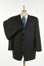 CORNELIANI Suit 48 R in Charcoal Gray Pinstripe Merino Wool ITALY