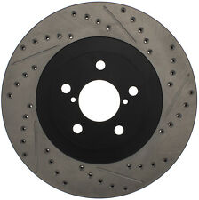 SportStop XDrilled & Slotted Rotor fits 2001-2008 Subaru Impreza Forester Outbac