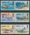 1993 JERSEY ROYAL AIR FORCE 75th ANNIVERSARY SET OF 6 FINE MINT MNH/MUH