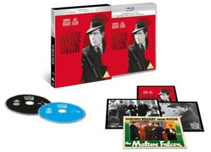 Blu Ray and DVD  THE MALTESE FALCON. Humphrey Bogart. Premium collection. New.