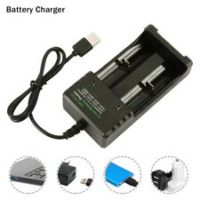 Battery Charger USB for 3.7V 18650 14500 16340 26650 Batteries Without battery