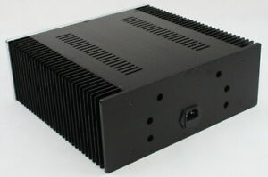 New Power Amplifier Aluminum Chassis DIY HiFi Project Case 312*262*120MM