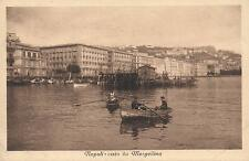 VERY EARLY 1900's VINTAGE POSTCARD - VISTO da MERGELLINA NAPOLI NAPLES POSTCARD