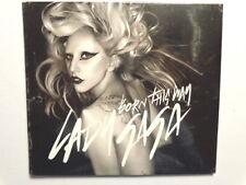 LADY GAGA -  BORN THIS WAY -  CD 2011 SINGLE 4 TRACKS (3 REMIX)  NUOVO SIGILLATO