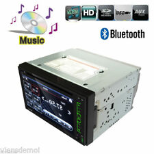 "2 DIN Autoradio 6.2"" Touch GPS Car Stereo MP3 Player Bluetooth DVD CD FM USB SD"