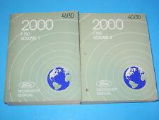 2000 Ford F-150 Workshop Manuals Volume 1 & 2