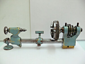 MACHINIST TOOLS LATHE German Watchmakers Micro G.Boley Lathe