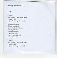 (FN8) Rodrigo Amarante, Maná - 2014 DJ CD