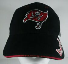 Tampa Bay Bucs Buccaneers Strapback Black Red Embroidered Chrysler Jeep Giveaway