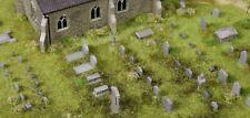 More details for bulkscene - model church gravestones busts tombstones - oo gauge 1/76 - 24 pcs