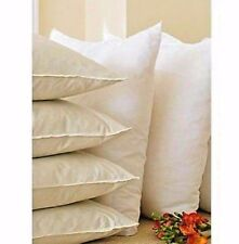"""Set of 4 Quality Cushion Inner Pads 18"""" x 18 """" Polyester Hollowfibre 45cm  x45cm"""