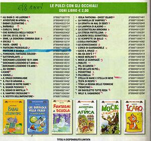 stock 104 libri nuovi la spiga- pulci con gli occhiali bambini 4-6 anni  58 euro