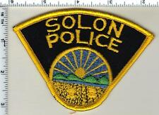 Solon Police (Ohio) Shoulder Patch from 1992