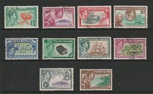Pitcairn Islands 1940 Complete set SG 1-8 Fine used.