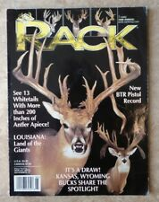 1999 ANNUAL RACK MAGAZINE FEATURING 13 WHITETAIL DEER W/ 200 + INCHES OF ANTLER