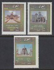 Irak Iraq 2002 ** Mi.1694/96 Moscheen Mosques Gebäude Buildings