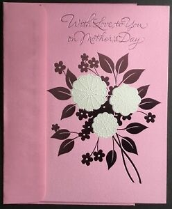 """NEW Card With Envelope - Mother's Day - American Greetings - 6"""" X 9"""" - Pretty!!"""