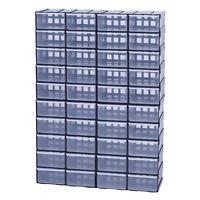 Box Kiste Sortierkasten Sortimentsbox Organizer Sortimentskasten x40