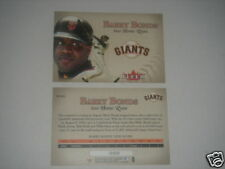 2002 FLEER BARRY BONDS LIMITED EDITION 600 HOME RUNS JUMBO TRADING CARD #BB-600