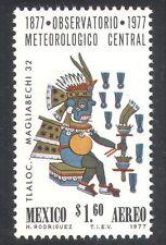 Mexico 1977 Weather/Meteorology/Tribal Art/Rain God 1v (n39837)