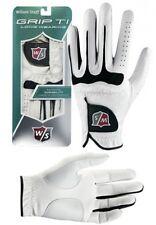 Wilson Staff Grip Ti Golf Glove White - Large + Free Gift
