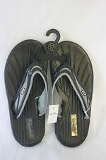 Sandals STAR Bay Sandals Black & Silver Rubber NEW SZ 7