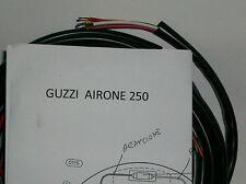 IMPIANTO ELETTRICO ELECTRICAL WIRING MOTO GUZZI AIRONE 250 CON SCHEMA ELETTRICO