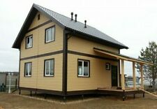 House plan, gable roof, PDF