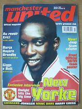 MANCHESTER UNITED OFFICIAL MAGAZINE VOL 6 No 10 OCTOBER 1998