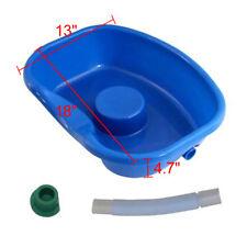 Home Salon Equipment Shampoo Bowl Sink Basin Plastic Hose With Blocking Plug BCL