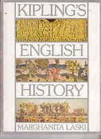 Rudyard Kipling English History in poems chosen by Marghanita Laski BBC 1974 vgc