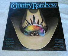 Country Rainbow LP Various Artists ERA Willie Nelson George Jones Mickey Gilley