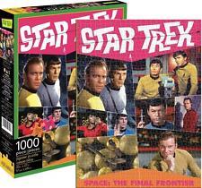 AQUARIUS JIGSAW PUZZLE STAR TREK RETRO 1000 PCS #65286