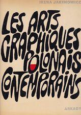 Jakimowicz, Les graphiques Polonais Contemporains ,Arkady Warsaw 1976   R
