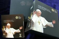 ROYAL MINT 2010 Pope Benedict XVI Visit to the UK Silver Proof Medal CASED COA