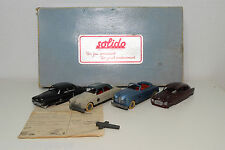 SOLIDO COFFRET GIFT SET JUNIOR 6 CAR VOITURE FORD CADILLAC NASH EXCELLENT BOXED