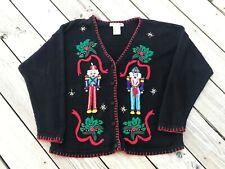 Victoria Jones Nutcracker Ugly Christmas Sweater Size M
