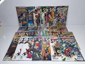 DC Superman Comics 1985-2013 Lot of 28