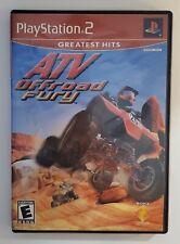 New listing ATV Offroad Fury (Sony PlayStation 2, 2001) Tested Works Orig Case Manual CIB