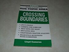 Excel Studies in Literature - 2UG Topic Area - Crossing Boundaries
