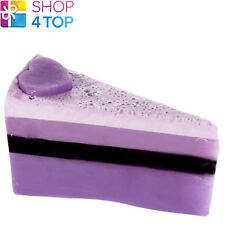 BERRYLICIOUS SOAP CAKE SLICE BOMB COSMETICS BLACK CURRANT NATURAL HANDMADE NEW