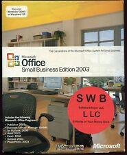 588-02636 Microsoft Office Small Business Edition 2003