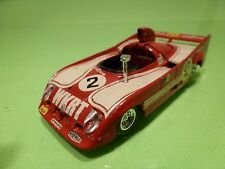 SOLIDO 41 ALFA ROMEO 33TT 12 - WKRT No 2 - RED 1:43 - GOOD CONDITION