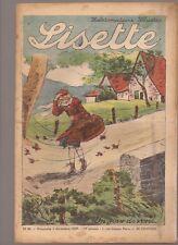 LISETTE 1939 .N°49.AU DOS JACKIE. TEXTES ET DESSINS DE GEORGES BOURDIN  BE