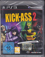 Playstation Ps3 gioco **KICK-ASS 2** nuovo import con italiano