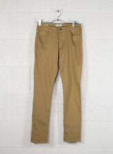 Jeans da uomo beige lunghi Taglia 32
