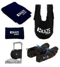 KAZE SPORTS Bowling Accessory SeeSaw Grip Sack Microfiber Towel Shoe Cover Joey