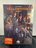 YELLOWSTONE SEASON 2 (DVD 2019, 4-Disc-Set) NEW & SEALED FREE SHIPPING